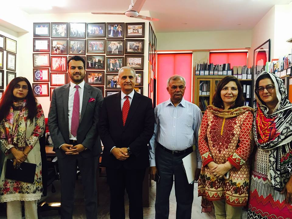 Vice Chancellor Punjab University Visits Rci Roots College International
